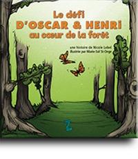 Le défi d'Oscar et Henri au cœur de la forêt